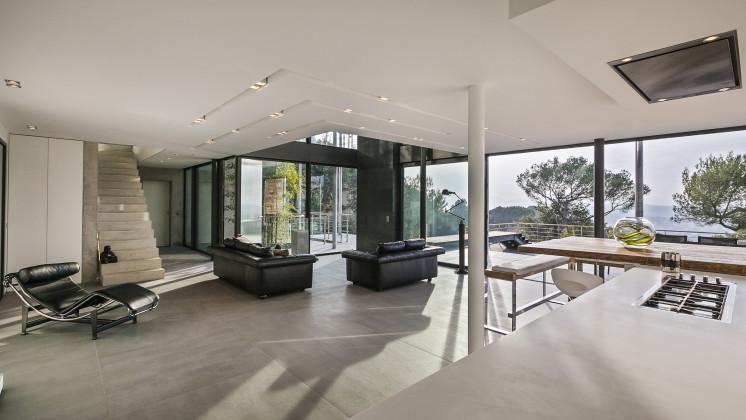 maison d le cannet 06 didier becchetti architectes. Black Bedroom Furniture Sets. Home Design Ideas