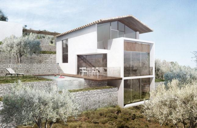Maison F - Grasse (06) - Didier Becchetti Architectes